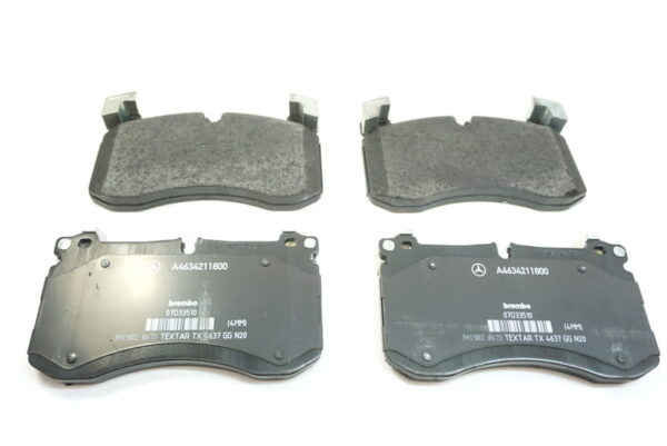 Mercedes-Benz Genuine Brake Pads 0004205002-فحمات أمامي