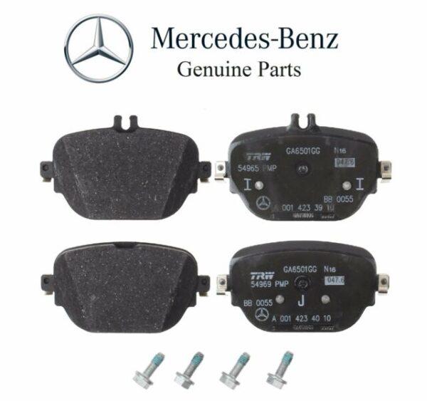 Mercedes-Benz Genuine Brake Pads 0004205602-فحمات خلفي