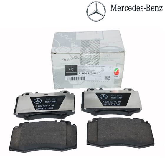 Mercedes-Benz Genuine Brake Pads 0064203220-فحمات فرامل أمامي 220