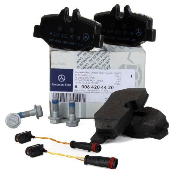 Mercedes-Benz Genuine Brake Pads 0064204420-فرامل خلفي