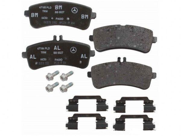 Mercedes-Benz Genuine Brake Pads 0074209120-فحمات خلفي