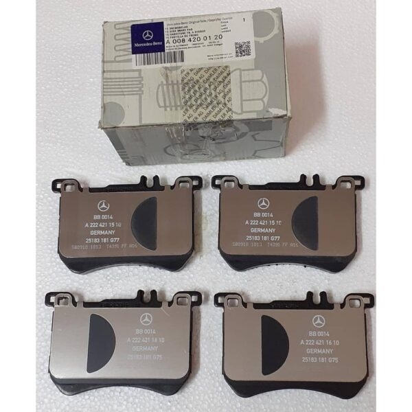 Mercedes-Benz Genuine Brake Pads 0084200120