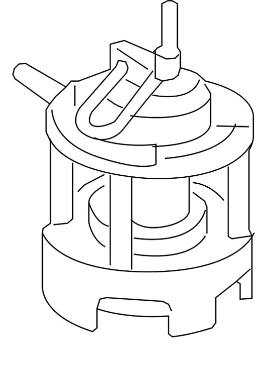 Mercedes-Benz Genuine Fuel Pump 1974700494
