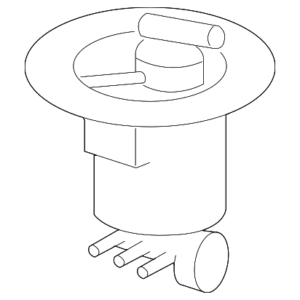 Mercedes-Benz Genuine Fuel Filter 2214702090