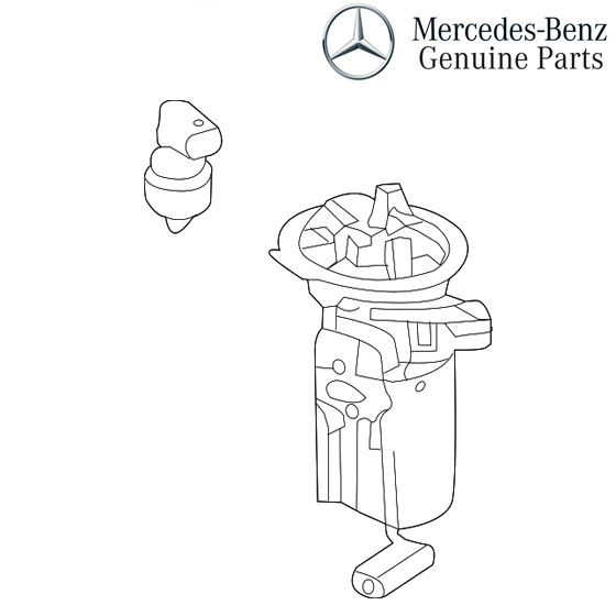 Mercedes-Benz Genuine Fuel Pump 2464701694