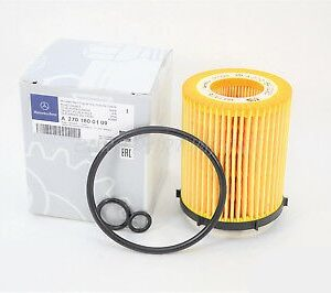 Mercedes-Benz Genuine Ts Oil Filter 2701800109