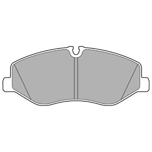 Mercedes-Benz Genuine Brake Pads 4474200220-فحمات فرامل أمامي