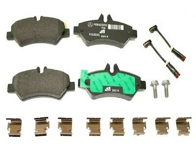 Mercedes-Benz Genuine Brake Pads 0084205120-فرامل خلفي